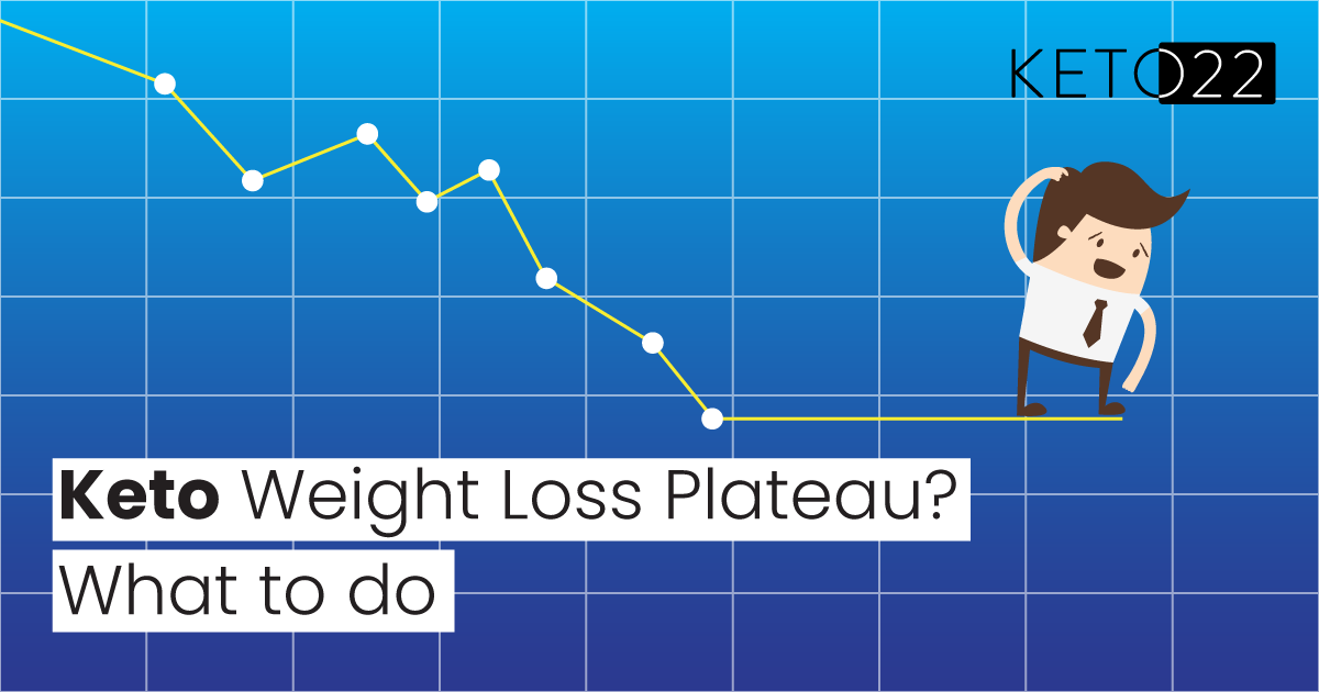 keto weight-loss plateau